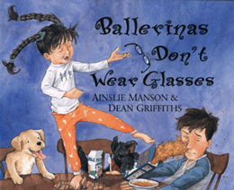 Ballerina's Don't Wear Glasses cover